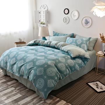 水洗棉印花系列四件套 1.5m(5英尺)床 巴洛克