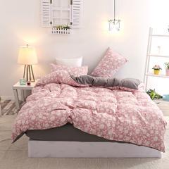 MUJI良品印花水洗棉四件套 2.0m(6.6英尺)床 风尚元素