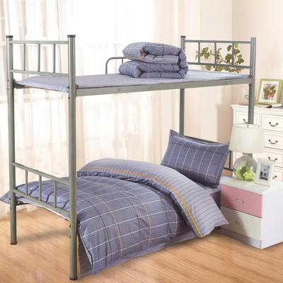 13372新三件套系列 1.2m(4英尺)床 时尚悦格-灰