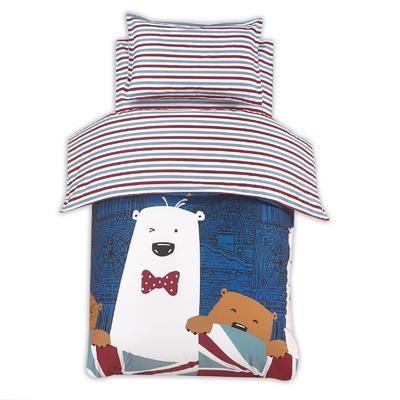 2018新款-幼儿园套件 三件套 晚安熊绅士