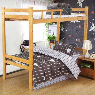 家纺-12868全棉斜纹三件套 小号(1.35m床及以下) 艾维拉