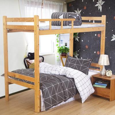 家纺-12868全棉斜纹三件套 小号(1.35m床及以下) 绅士风格