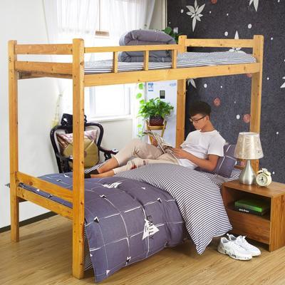家纺-12868全棉斜纹三件套 小号(1.35m床及以下) 炫影格调