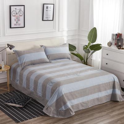 加厚生态磨毛单品 床单 180cmx240cm 摩卡时光