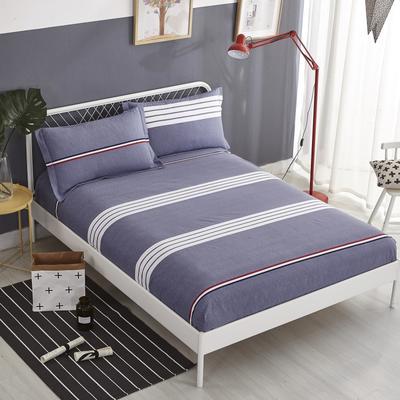 加厚生态磨毛单品 床笠 150cmx200cm 布鲁斯-灰
