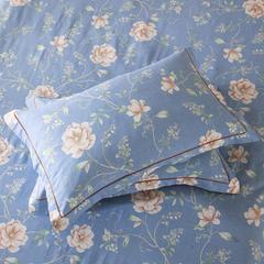 梧桐树- 全棉加厚磨毛单品 (枕套) 48cmX74cm/一对 7那时花开