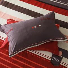 梧桐树- 全棉加厚磨毛单品 (枕套) 48cmX74cm/一对 24 灵动风情