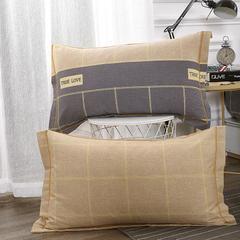 梧桐树- 全棉加厚磨毛单品 (枕套) 48cmX74cm/一对 35苏格拉