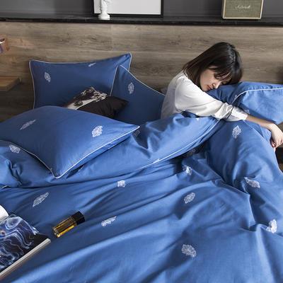 2019新款-全棉轻奢工艺款四件套 1.2m(4英尺)床 寐影