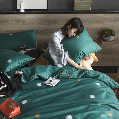 2019新款-全棉轻奢工艺款四件套 1.2m(4英尺)床 往事