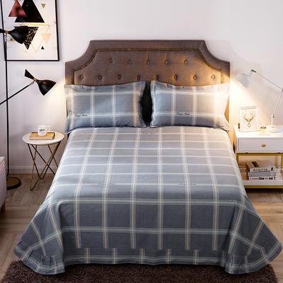 2019新款-全棉磨毛单品床单 180cmx240cm 贝拉维拉-灰