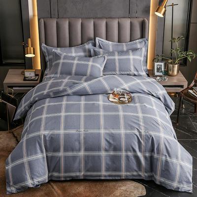 2020秋冬新款-多规格全棉磨毛四件套 床单款三件套1.2m(4英尺)床 贝拉维拉