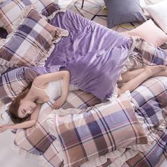 17年新款A版植物羊绒B版天鹅绒 1.5m(5英尺)床 神秘爱情