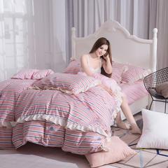 17年新款A版植物羊绒B版天鹅绒 1.5m(5英尺)床 小清新-玉