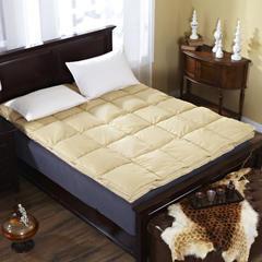 2017 全棉双层凌空床垫 1.2*2 土黄双层床垫
