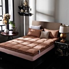2017 全棉双层凌空床垫 1.5*2 棕色双层床垫