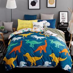 平纹混搭四件套 1.2m(4英尺)床 巨龙家族