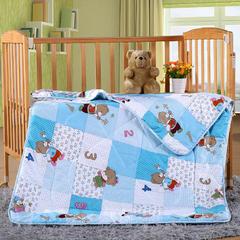 幼儿园被子 小猪佩奇夏被 幼儿园午睡被 儿童夏凉被 儿童空调被 纯棉 儿童夏被 110x150cm 数字小熊