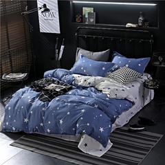 四件套 芦荟棉四件套 2.2m(7英尺)床 北斗星