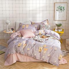 四件套 芦荟棉四件套 1.5m(5英尺)床 童趣