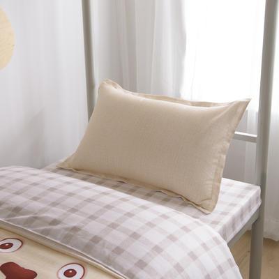 2019新款-芦荟棉高低床单枕套 46cmX72cm/一对 凯琳
