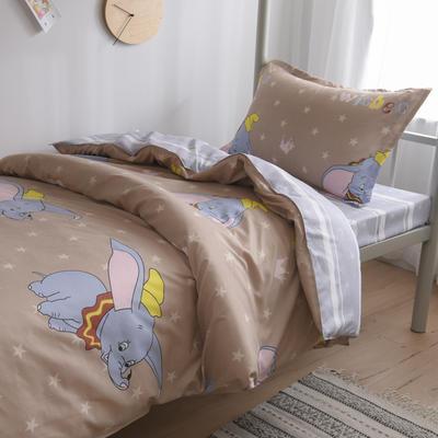 2019新款-芦荟棉高低床单枕套 46cmX72cm/一对 快乐飞翔-咖