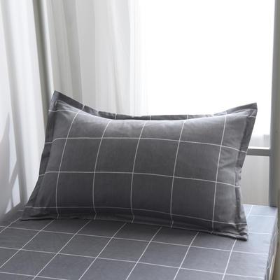 2019新款-芦荟棉高低床单枕套 46cmX72cm/一对 挪威