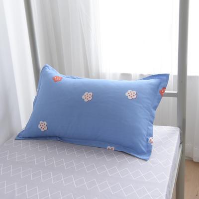 2019新款-芦荟棉高低床单枕套 46cmX72cm/一对 小幸运