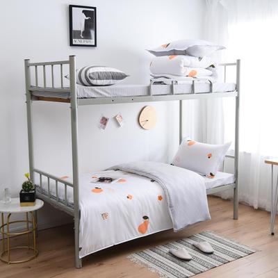 2019新款-芦荟棉三件套高低床 三件套1.5m床 欢乐果园