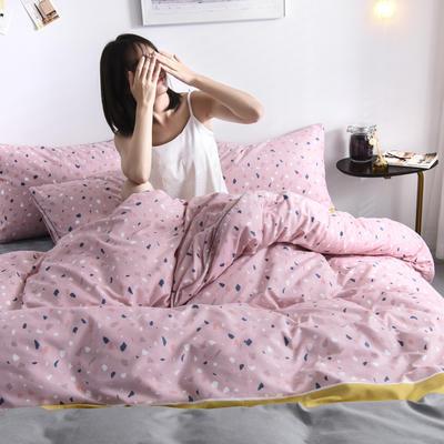 2019新款-90克仿棉四件套 床单款三件套1.2m(4英尺)床 卡诺