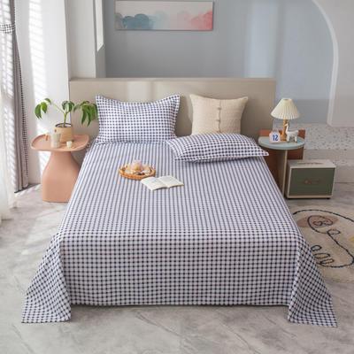 2021新款植物羊绒单床单 120*225cm 灰格