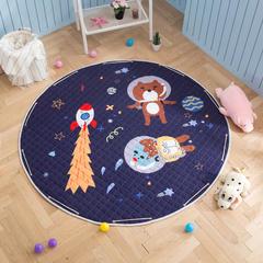 2018新款圆形收纳地垫 1.5m直径 34太空熊