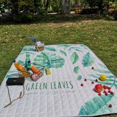 防水野餐垫地垫爬爬垫--室外图 170*200cm 绿叶