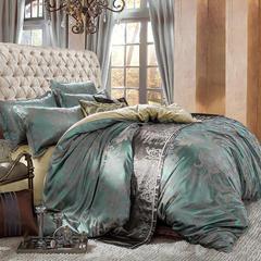 皇居家纺 天鹅绒提花四件套 1.2m床 梦境幻彩