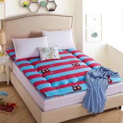 床垫磨毛印花床垫(绗缝款) 90*200 发财猫