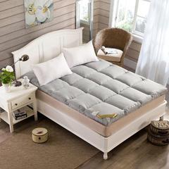床垫羽丝绒床垫 90*200 灰色