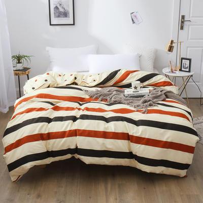 2019新款12868全棉斜紋四件套 1.2m(4英尺)床 裸婚時代