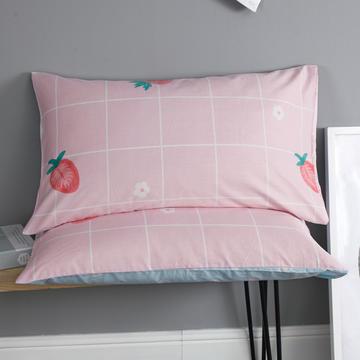 2019新款12868春夏系列全棉单枕套一对48*74cm