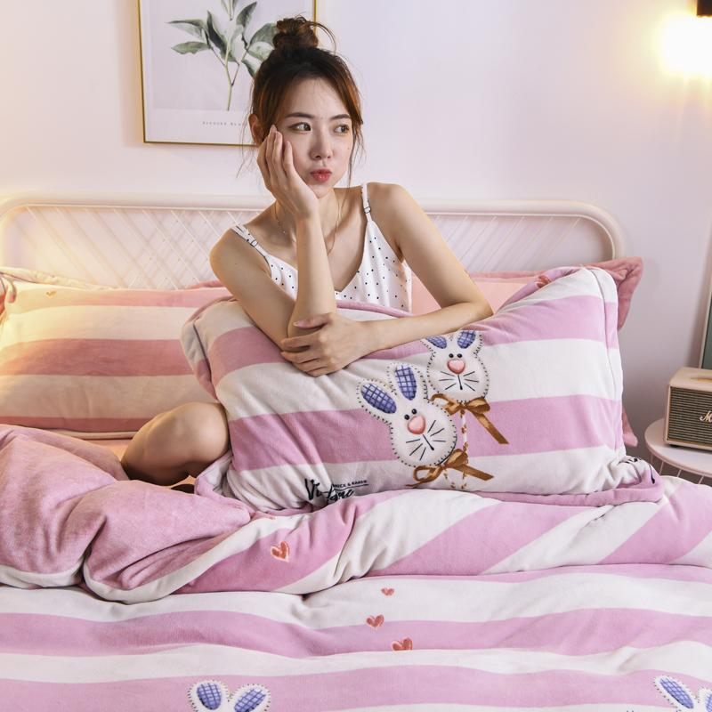 2019新款保暖绒系列——臻棉绒四件套