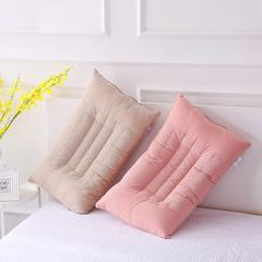 超高口碑!傲蕾良品高端水洗棉决明子养生分区纤维枕芯枕头 杏色