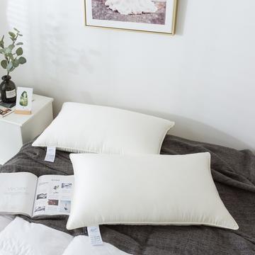 傲蕾良品法国进口面料玻尿酸美颜枕酒店枕芯宾馆枕头民宿柔软舒适