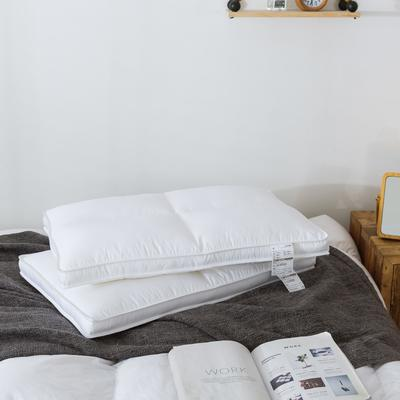 傲蕾良品热卖款殿堂级零压力枕进口杜邦纤维酒店枕芯宾馆枕头民宿 殿堂级零压力枕