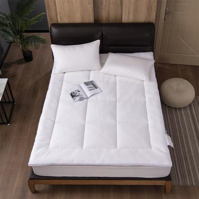 傲蕾良品五星级酒店殿堂级乳胶床垫床褥慢回弹垫被垫子褥子宾馆用 150*200cm 白色