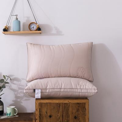 羊绒蛋白护颈枕 枕芯枕头 羊绒蛋白护颈枕48/74/只