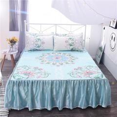 水洗凉席床裙款 1.5m(5英尺)床 美式风