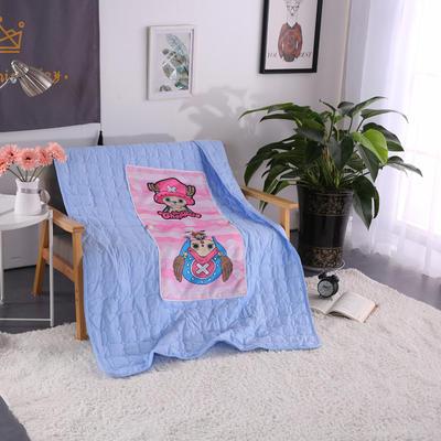 靠枕被 40*40cm打开1.1*1.5m 乔巴粉