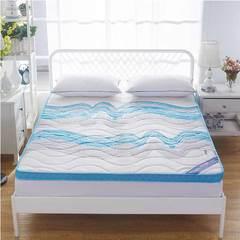 记忆海绵床垫6.5cm 90*200cm 冰蓝