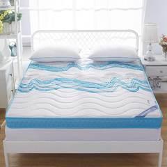 记忆海绵床垫10cm 180*200cm 冰蓝