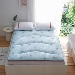 依诺床垫 磨毛2层加厚床垫 120*200cm 小雨滴
