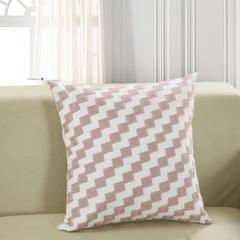 禾木家居 特种绣花-北欧几何抱枕套 45x45cm(单套) 22